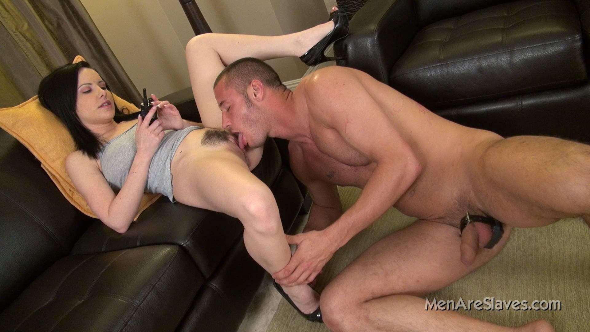 Femdom wife submissive husband