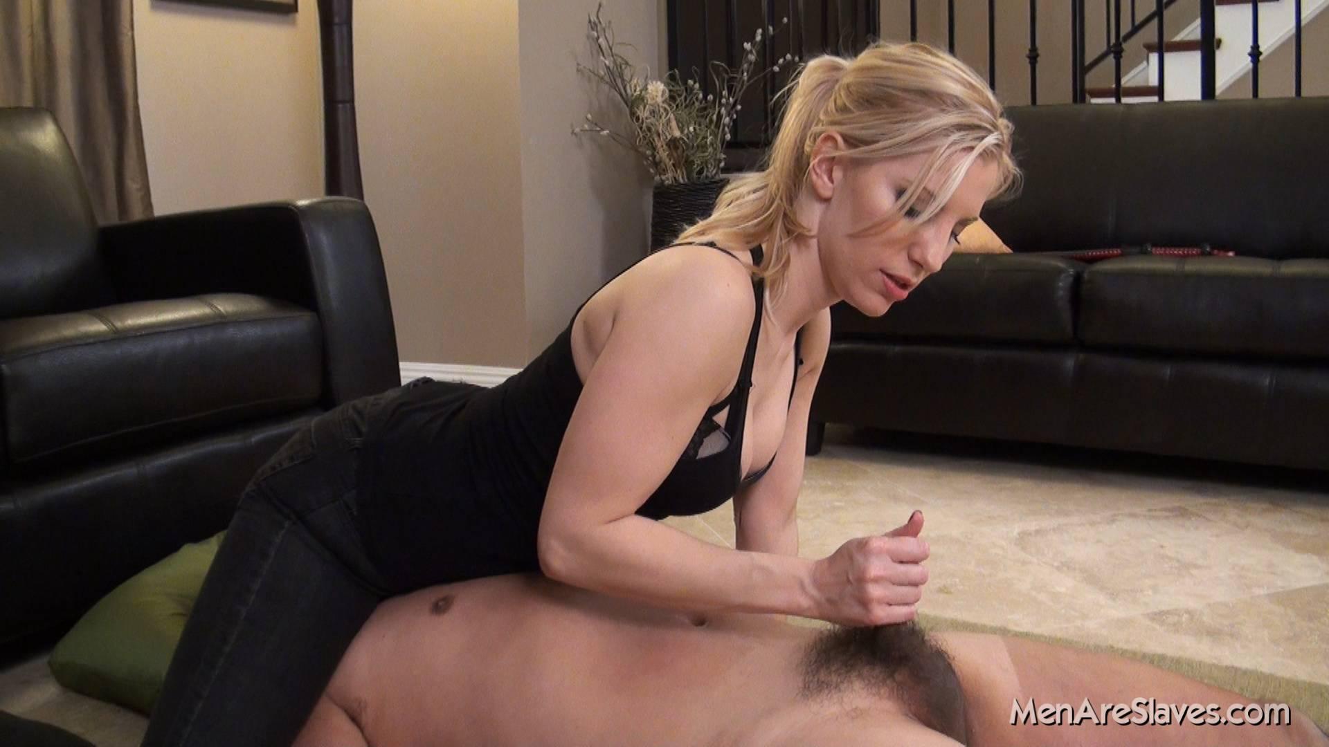 Milf mistress femdom cock milking